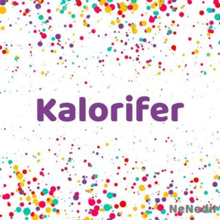 Kalorifer